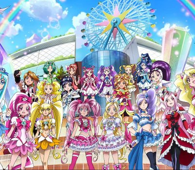 Precure All Stars Movie DX3: Deliver The Future! The Rainbow-Colored Flower That Connects The World online