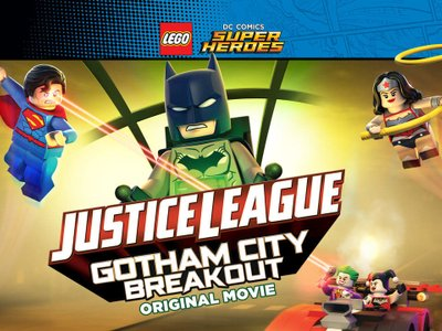 watch LEGO DC Comics Super Heroes: Justice League - Gotham City Breakout streaming