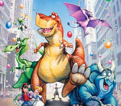 We're Back! A Dinosaur's Story online