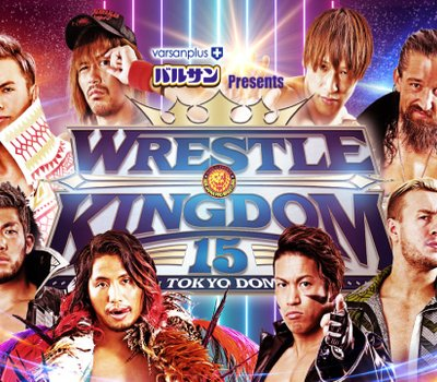 NJPW Wrestle Kingdom 15: Night 1 online