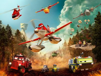 watch Planes: Fire & Rescue streaming