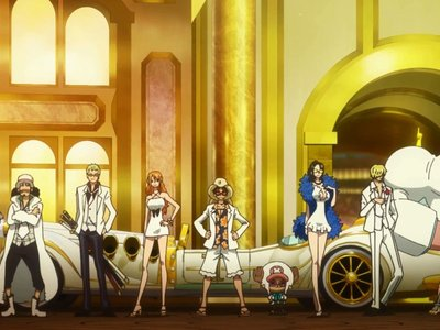 watch One Piece Film: GOLD streaming