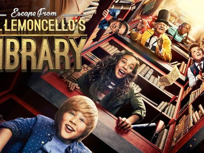 watch Escape from Mr. Lemoncello's Library streaming