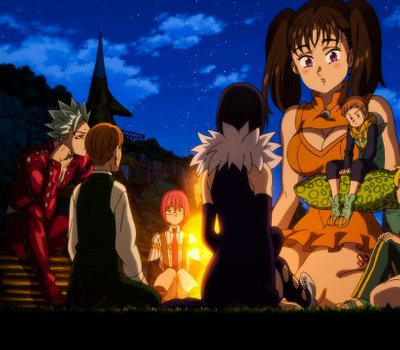 The Seven Deadly Sins: Prisoners of the Sky online