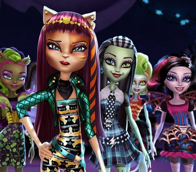 Monster High: Freaky Fusion online
