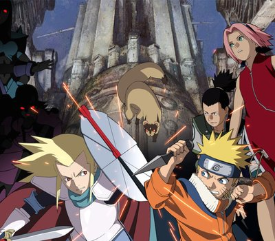 Naruto the Movie: Legend of the Stone of Gelel online