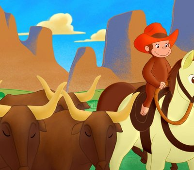 Curious George: Go West, Go Wild online