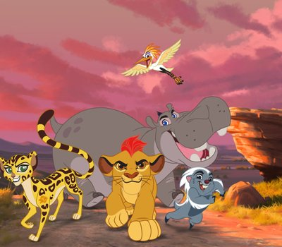 The Lion Guard: Return of the Roar online