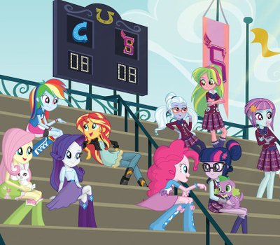 My Little Pony: Equestria Girls - Friendship Games online