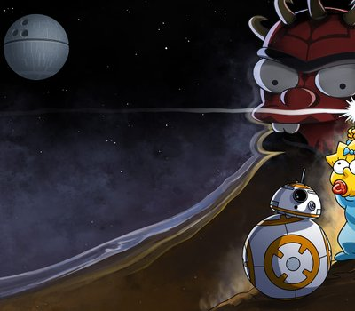 Maggie Simpson in The Force Awakens from Its Nap online