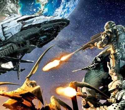 Starship Troopers: Invasion online