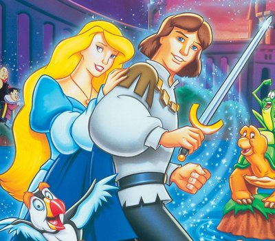 The Swan Princess: Escape from Castle Mountain online