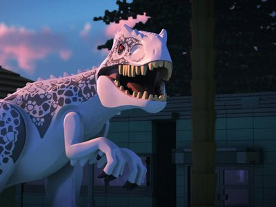 watch LEGO Jurassic World: The Indominus Escape streaming