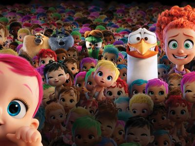 watch Storks streaming