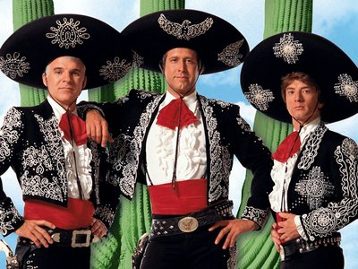 watch ¡Three Amigos! streaming