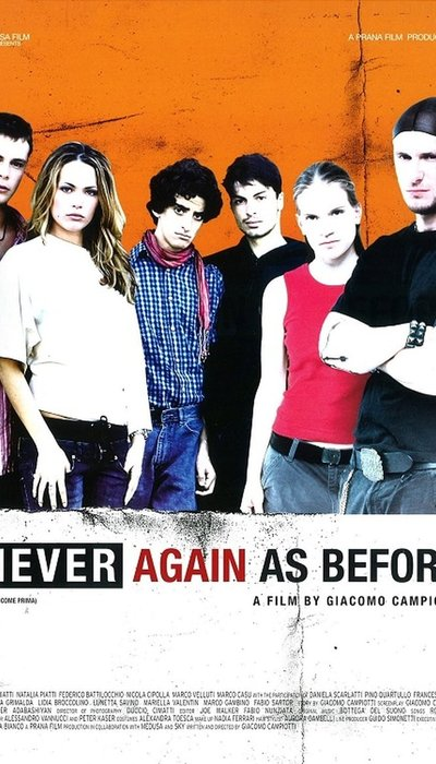 Never Again as Before movie