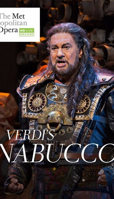 Met Opera Live: Nabucco movie