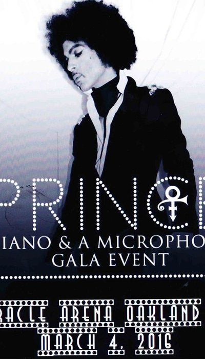 Prince: Piano and a Microphone Tour movie