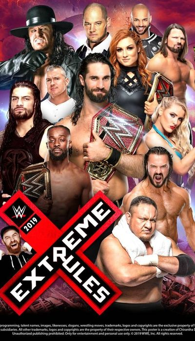 WWE Extreme Rules 2019 movie