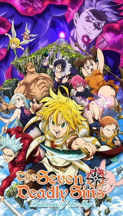 The Seven Deadly Sins: Prisoners of the Sky movie
