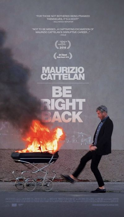 Maurizio Cattelan: Be Right Back movie