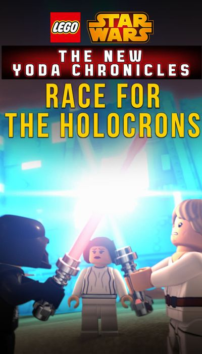 LEGO Star Wars: The New Yoda Chronicles - Race For The Holocrons movie