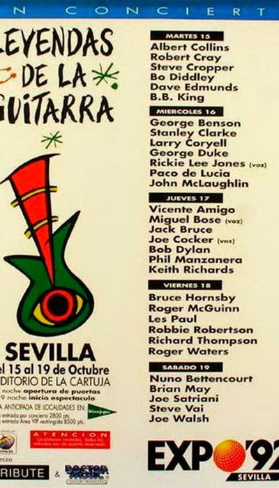 Guitar Legends: EXPO '92 at Sevilla - Through The Electric Age movie