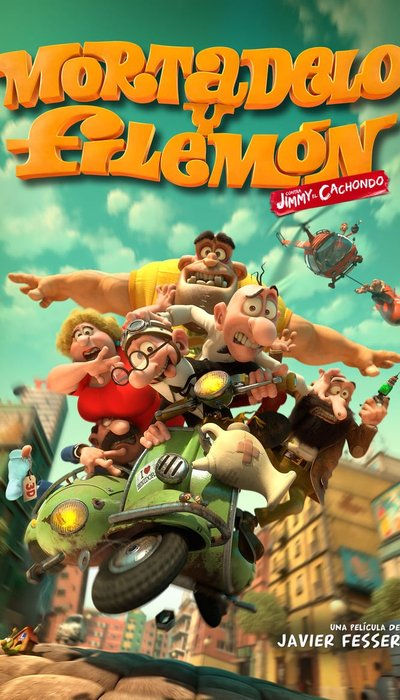 Mortadelo and Filemon: Mission Implausible movie