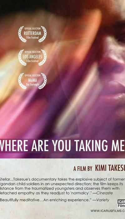 Where Are You Taking Me? movie