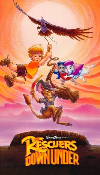 The Rescuers Down Under movie