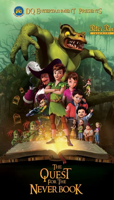 Peter Pan: The Quest for the Never Book movie