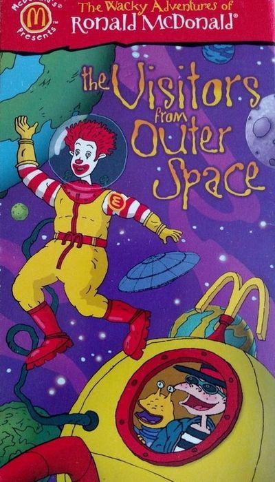 The Wacky Adventures of Ronald McDonald: The Visitors from Outer Space movie